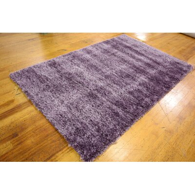 Evelyn Fig Purple Area Rug Rug Size: Rectangle 5 x 8