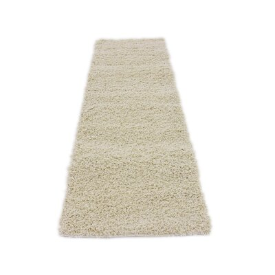 Lilah Basic Ivory Area Rug Rug Size: Runner 26 x 10, Rug Color: Pure Ivory