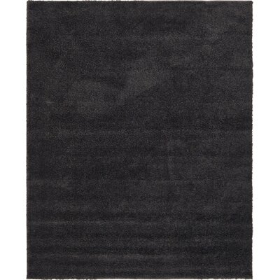 Sydnee Charcoal Area Rug Rug Size: Rectangle 10 x 13