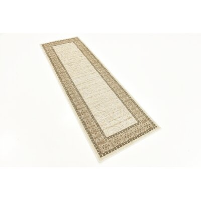 Margo Cream Indoor/Outdoor Area Rug Rug Size: Rectangle 9 x 12