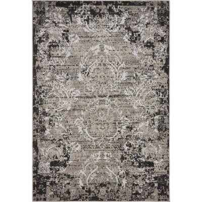 Christine Light Gray Indoor/Outdoor Area Rug Rug Size: Rectangle 4 x 6