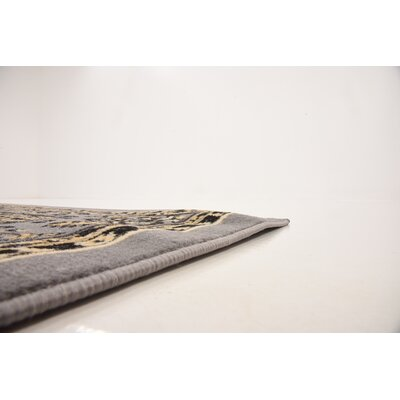 Southern Gray Area Rug Rug Size: 6' x 9'