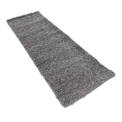 Lilah Dark Gray Area Rug Rug Size: Rectangle 22 x 65