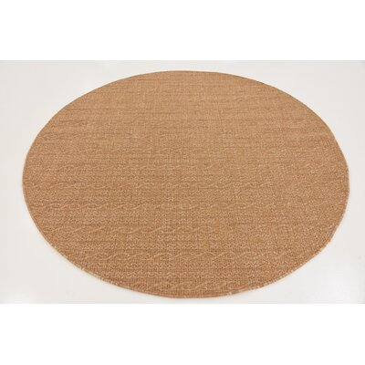 Dresden Light Brown Outdoor Area Rug Rug Size: 7 x 10