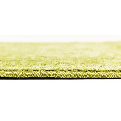 Lisbon Light Green Area Rug Rug Size: Rectangle 6 x 9