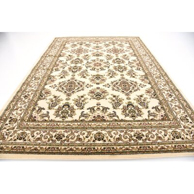 Snows Cream Area Rug Rug Size: Rectangle 33 x 5