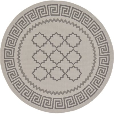 Hancock Gray Outdoor Area Rug Rug Size: Rectangle 33 x 5