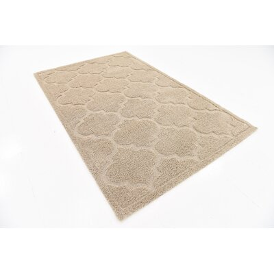 Moore Beige Area Rug Rug Size: Rectangle 9 x 12