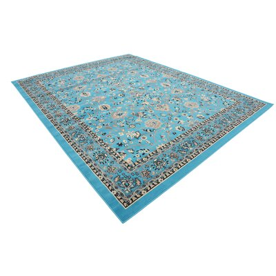 Southern Turquoise Area Rug Rug Size: Rectangle 9 x 12