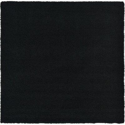 Lilah Black Area Rug Rug Size: Square 82