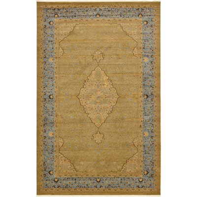Fonciere Light Brown Area Rug Rug Size: 106 x 165