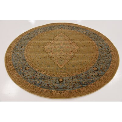 Fonciere Light Brown Area Rug Rug Size: Rectangle 5 x 8