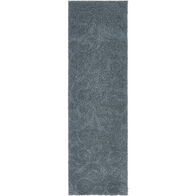 Billingsley Floral Blue Area Rug Rug Size: Runner 2 x 67