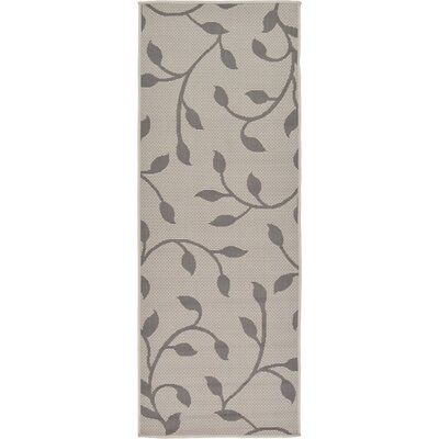 Forrest Gray Outdoor Area Rug Rug Size: Runner 22 x 6
