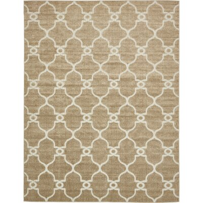 Garrity Brown Indoor/Outdoor Area Rug Rug Size: 8 x 10