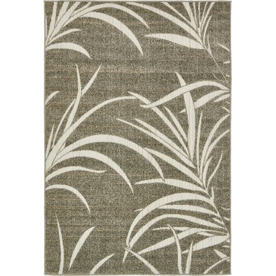 Stylli Brown Indoor/Outdoor Area Rug Rug Size: 5 x 8