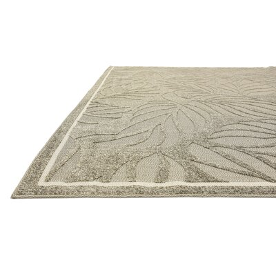 Barton Olive Indoor/Outdoor Area Rug Rug Size: 6 x 9