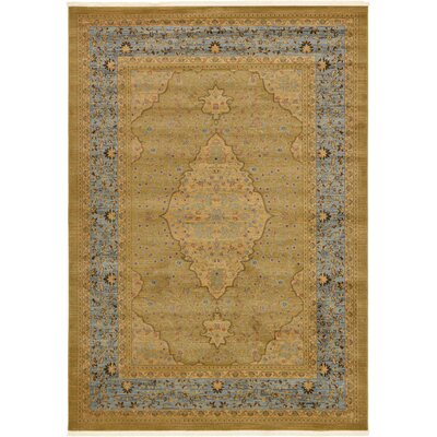 Fonciere Light Brown Area Rug Rug Size: 7 x 10