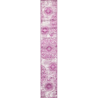 Brandt Purple Area Rug Rug Size: Runner 2 x 13