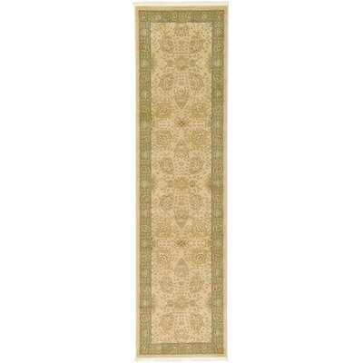 Fonciere Cream Area Rug Rug Size: Runner 2'7