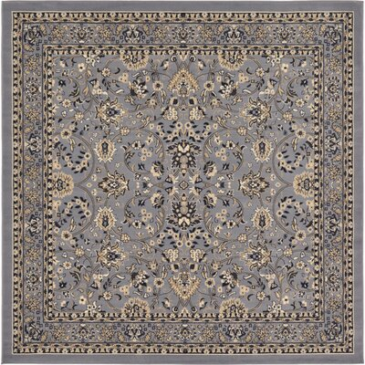 Southern Gray Area Rug Rug Size: Square 8