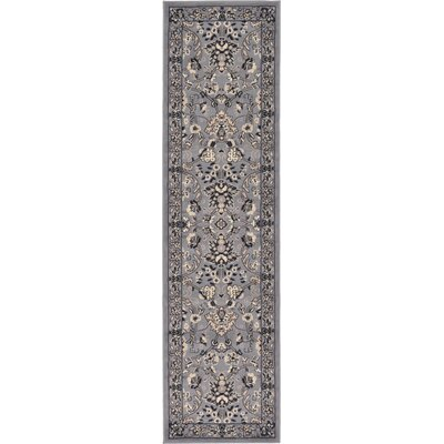 Southern Gray Area Rug Rug Size: Runner 2'2