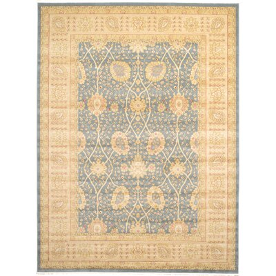 Fonciere Light Blue Area Rug Rug Size: 9 x 12