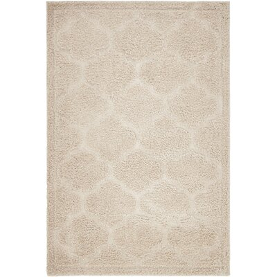 Catherine Beige Area Rug Rug Size: Rectangle 4 x 6