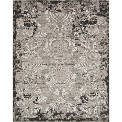 Christine Light Gray Indoor/Outdoor Area Rug Rug Size: Rectangle 8 x 10