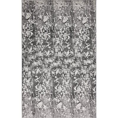 Maryrose Dark Gray Area Rug Rug Size: Rectangle 5 x 8