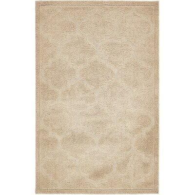 Catherine Beige Area Rug Rug Size: Rectangle 5 x 8