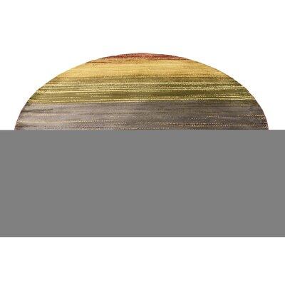 Jaidan Beige/Red Area Rug Rug Size: 9 x 12
