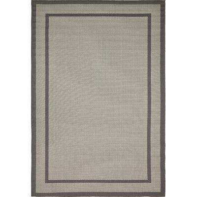 Marlborough Gray Outdoor Area Rug Rug Size: Rectangle 8 x 114