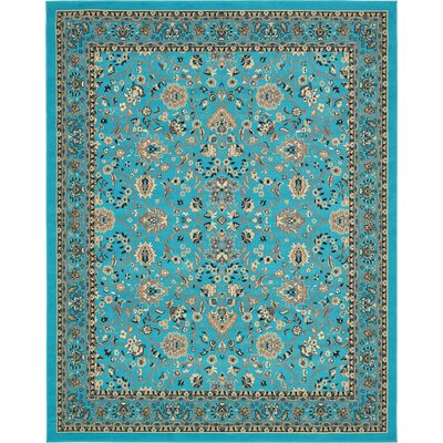 Southern Turquoise Area Rug Rug Size: Rectangle 6 x 9
