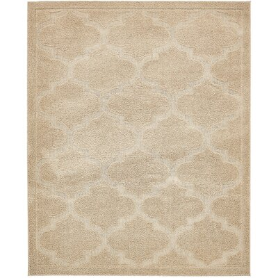 Moore Beige Area Rug Rug Size: Rectangle 8 x 10