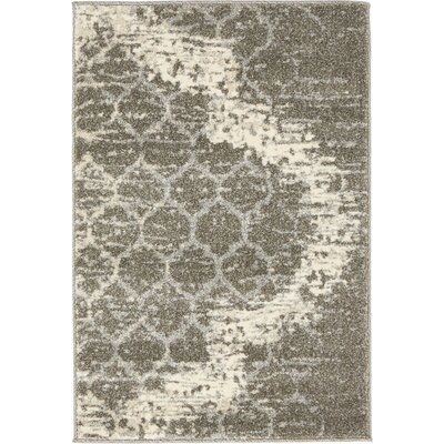 Steinbeck Light Gray Area Rug Rug Size: Runner 2 x 6