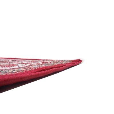 Charlie Red Area Rug