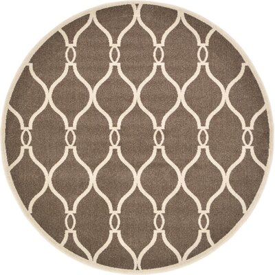 Molly Brown Area Rug Rug Size: Round 8