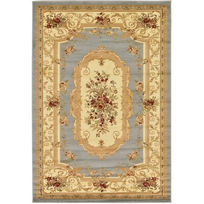 Patton Gray Area Rug Rug Size: 6 x 9