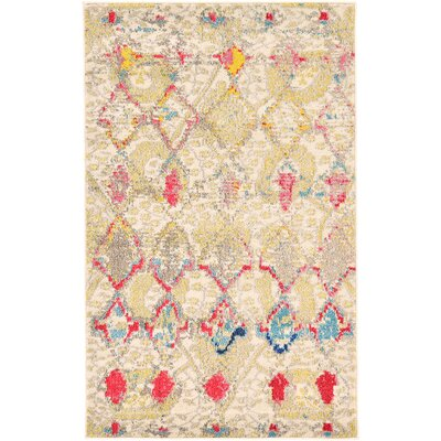 Charleena Beige Area Rug Rug Size: Rectangle 6 x 9
