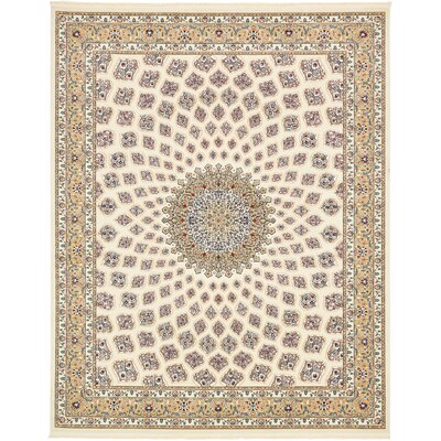 Jackson Ivory Area Rug Rug Size: Rectangle 13 x 198