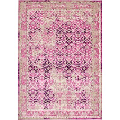 Hurst Lilac Area Rug Rug Size: Rectangle 7 x 10