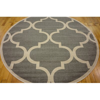 Emjay Gray Area Rug Rug Size: Rectangle 9 x 12