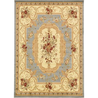 Patton Gray Area Rug Rug Size: Rectangle 7 x 10