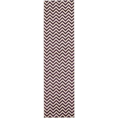 Arlot Purple Area Rug Rug Size: Runner 27 x 10