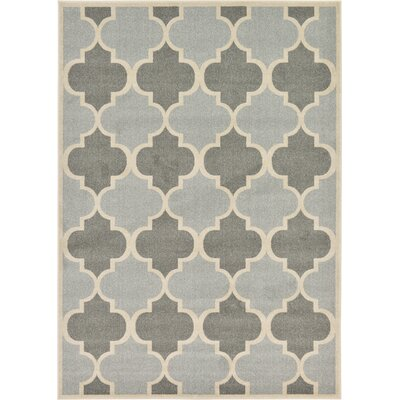 Moore Silver Area Rug Rug Size: 7 x 10
