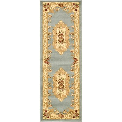 Patton Gray Area Rug Rug Size: Runner 22 x 6