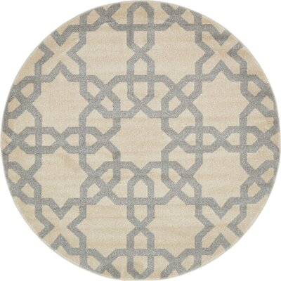 Moore Beige Area Rug Rug Size: Rectangle 5 x 8