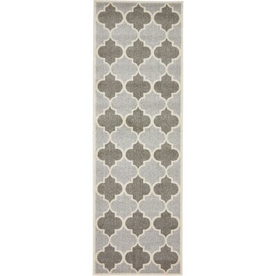 Moore Silver Area Rug Rug Size: Runner 27 x 10