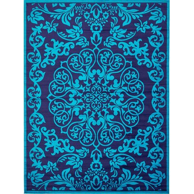 Alford Turquoise Area Rug Rug Size: Rectangle 9 x 12